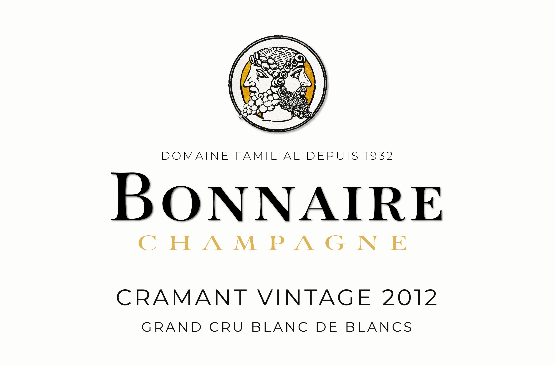 CRAMANT VINTAGE 2012 Grand Cru Blanc De Blancs